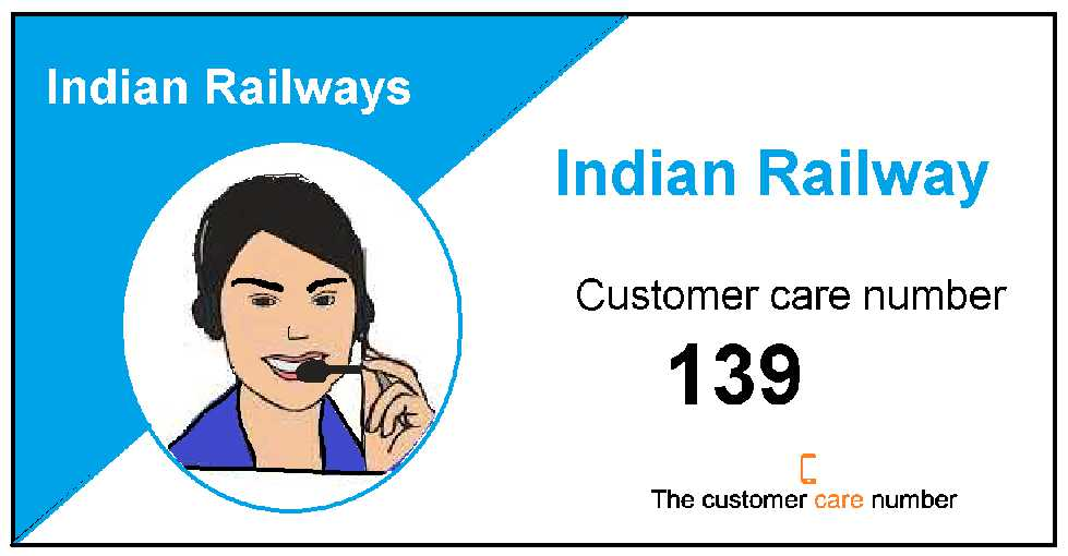 Indian railway enquiry number
